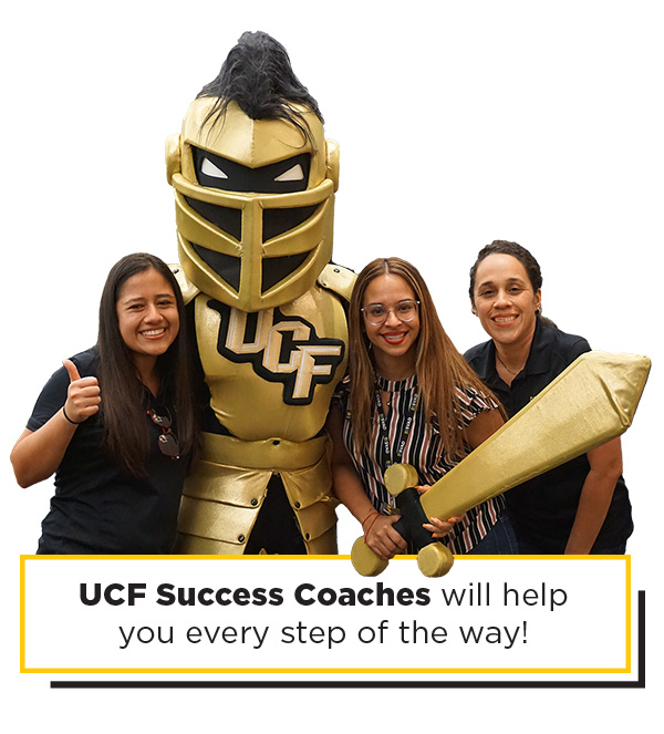 Knightro with 3 Success Coaches